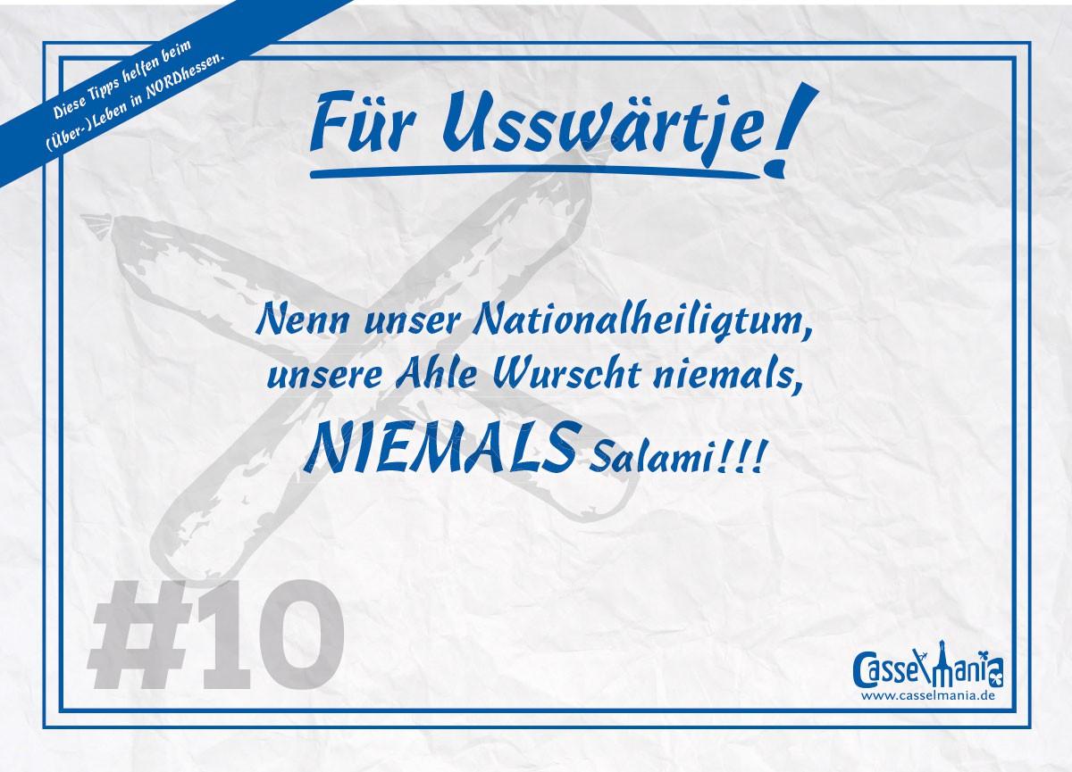 Postkarte für Usswärtje #10