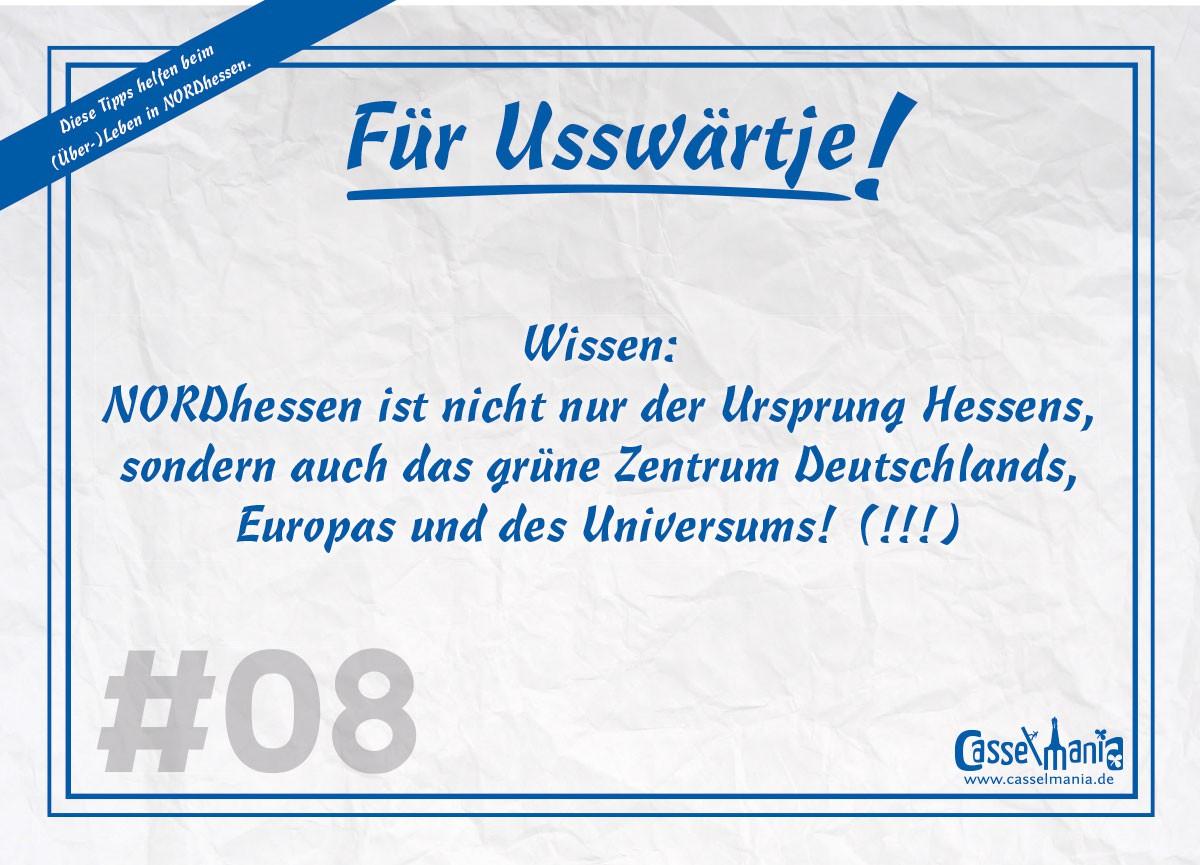 Postkarte für Usswärtje #8